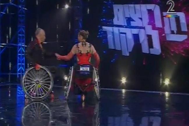 """נתנו שואו: מיטל וקס ובן זוגה לרחבה סמי דהן כיכבו בשלב האודישנים של """"רק רוצים לרקוד"""""""